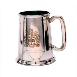 University of Bath Traditional Pewter Tankard